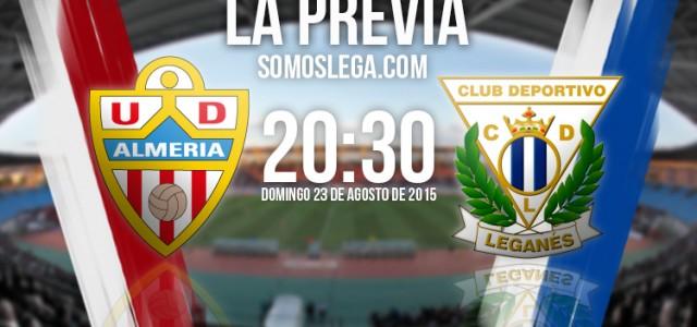 UD Almería – CD Leganés: Chuli, primer examen del Lega