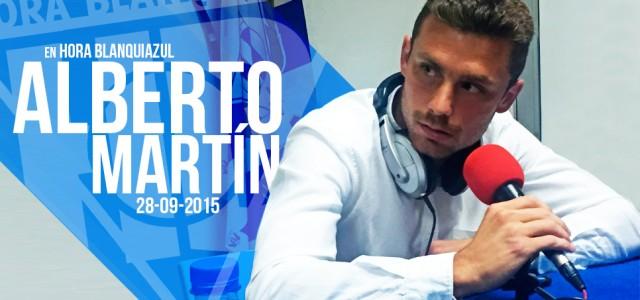 """Alberto Martín: """"Soy un afortunado por estar aquí"""""""