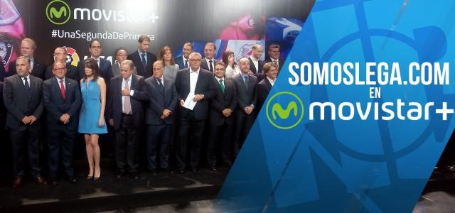 Movistar+ presenta la nueva Liga Adelante