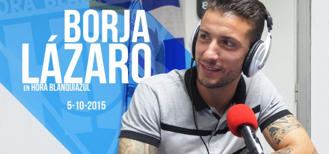 """Borja Lázaro: """"Garitano me pidió mayor sacrificio """""""