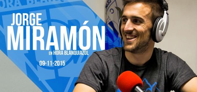 """Jorge Miramón: """"Esperaba cualquier barbaridad viniendo del Lleida"""""""