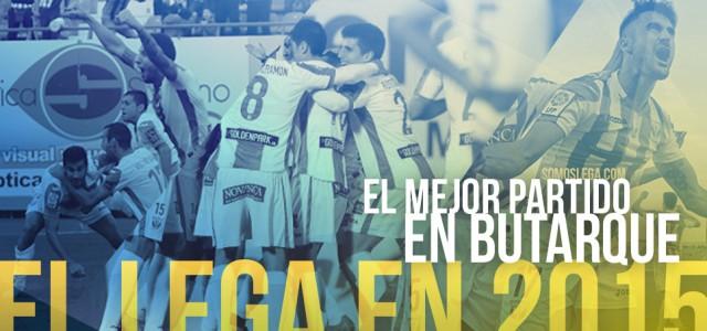 El Lega en 2015: El mejor partido en Butarque