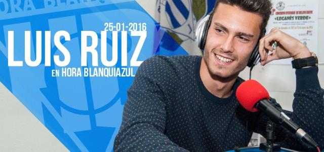 """Luis Ruiz: """"Pensar en Primera sería equivocarnos"""""""