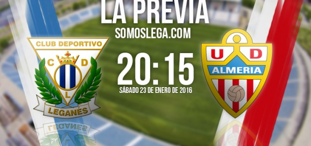 CD Leganés – UD Almería: Con los pies en el suelo
