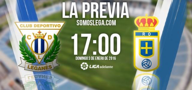 CD Leganés – Real Oviedo: A por la primera de 2016