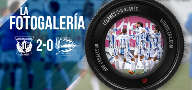 FOTOGALERÍA. CD Leganés – Deportivo Alavés