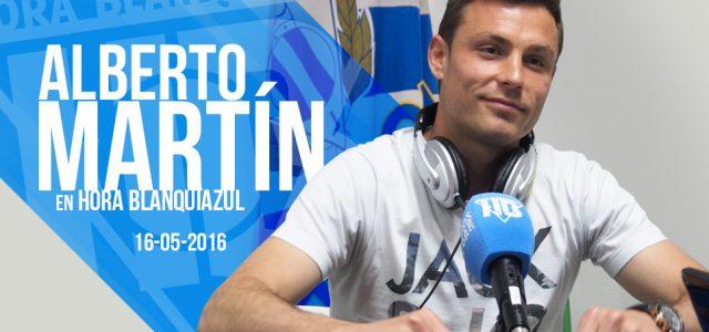 """Alberto Martín: """"Pienso que igual damos el petardazo en Oviedo"""""""
