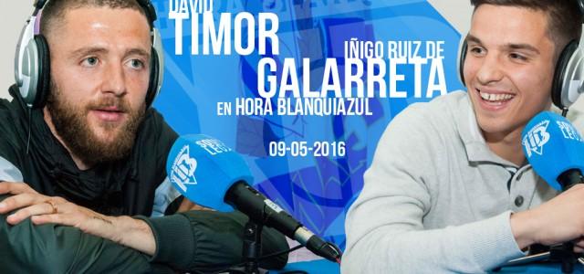 """Timor y Galarreta: """"Sólo pensamos en ganar al Nàstic"""""""