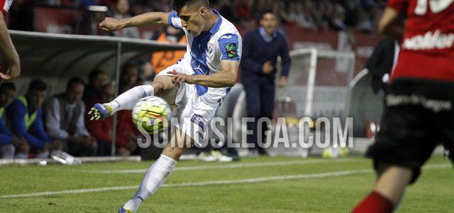 Bustinza se compromete con el Leganés hasta 2019