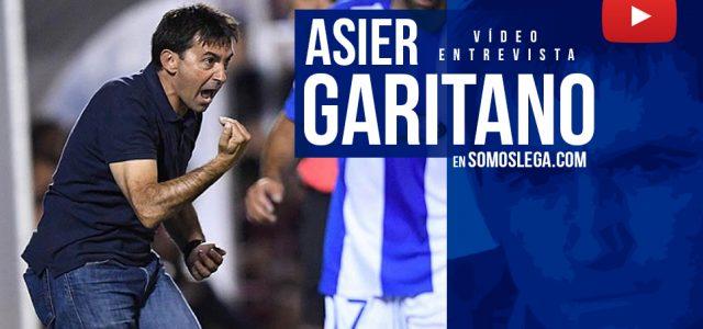 """Entrevista. Asier Garitano: """"La gente cree que el Lega va a bajar y no quiere venir al Leganés"""""""