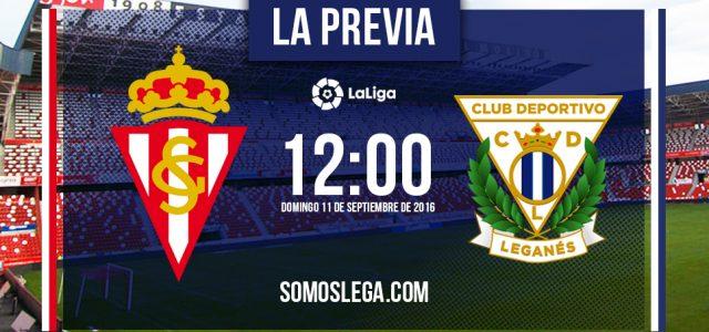 Leganés y Sporting vuelven a verse las caras en El Molinón