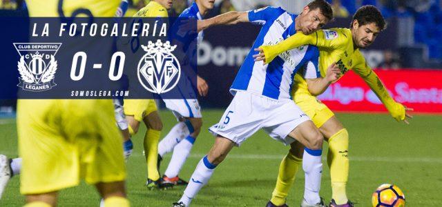 Fotogalería. CD Leganés 0-0 Villarreal CF