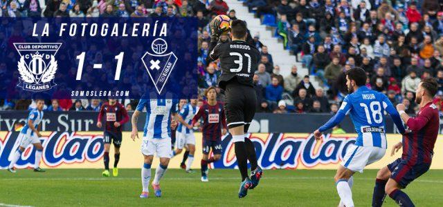 Fotogalería. CD Leganés 0-0 SD Eibar
