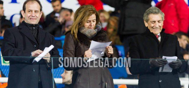 Asier Garitano y Victoria Pavón, galardonados por el Ayuntamiento de Leganés