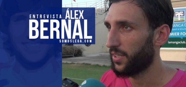 """Álex Bernal: """"El Leganés es un club que no tiene techo ahora mismo"""""""