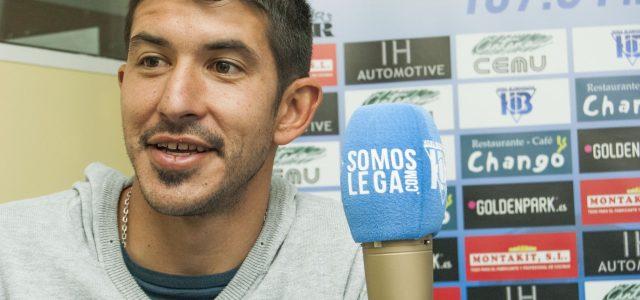 """Champagne: """"Mi objetivo es quedarme en Europa y si es en el Leganés, mejor"""""""