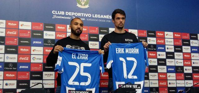 Erik Morán y El Zhar ya lucen la blanquiazul