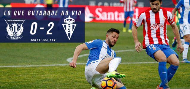 Lo que Butarque no vio en el Leganés-Sporting