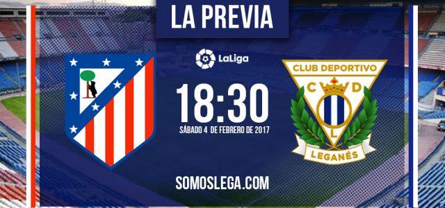 Atlético de Madrid – Leganés: con caras nuevas a la conquista del Calderón