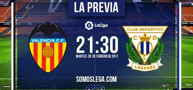 Valencia – Leganés: un martes, dos 'escapados' y tres puntos