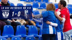 Lo que Butarque no vio del Leganés – Granada