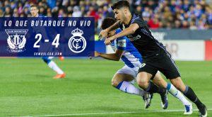 Lo que Butarque no vio del Leganés-Real Madrid