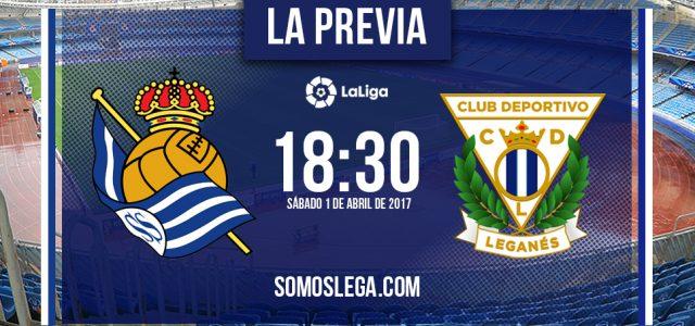 Real Sociedad-CD Leganés: Termómetro de rachas