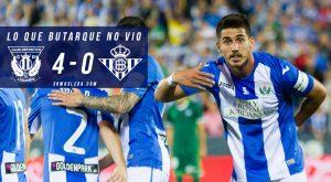 Lo que Butarque no vio del Leganés-Betis