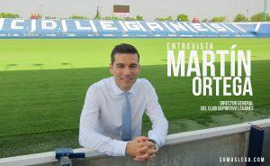 """ENTREVISTA   Martín Ortega: """"La relación con la Juventus es inmejorable"""""""
