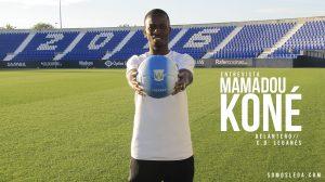 "ENTREVISTA | Mamadou Koné: ""Me obsesiona marcar mi primer gol en Primera"""