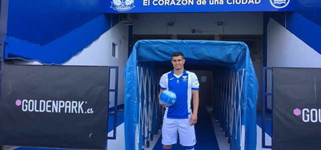 """Ezequiel Muñoz: """"Estoy seguro de que mejoraré en un club como el CD Leganés"""""""