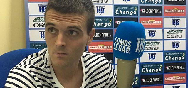 """Eraso: """"He venido para ayudar al Leganés a seguir en Primera"""""""