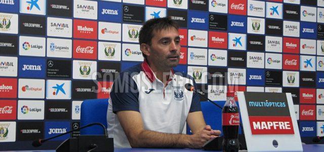 """Asier Garitano: """"No tengo plazos para la renovación, cuando acabe la temporada hablaremos"""""""