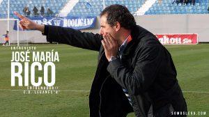 """ENTREVISTA   José María Rico: """"Quiero que mis jugadores vivan con ilusión el hecho de pertenecer al C.D. Leganés"""""""