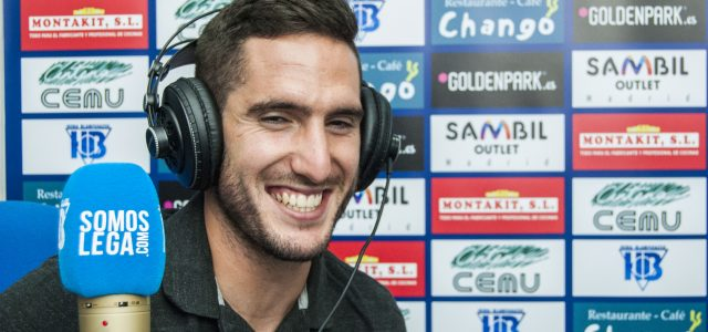 "Zaldua: ""Pensé que estaría de transición, pero estoy muy a gusto en Leganés"""