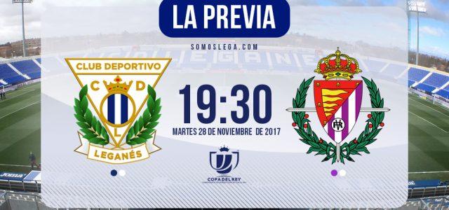Leganés – Real Valladolid: en busca de los octavos de final