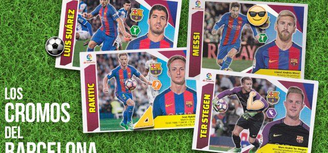 Los cromos del… Barcelona
