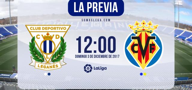 Leganés – Villarreal: duelo marcado por las bajas