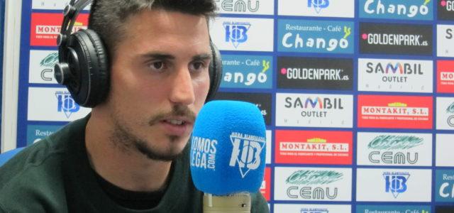 """Gabriel: """"Mi sueño es jugar la Europa League con el Leganés"""""""