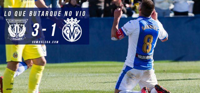 Fotogalería. CD Leganés 3-1 Villarreal CF