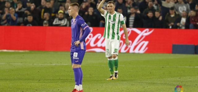 Un penalti deja al Leganés sin el premio de puntuar en el Villamarín