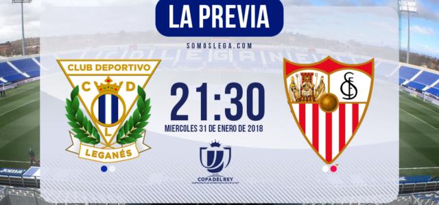 Leganés – Sevilla: A 180 minutos de la gloria
