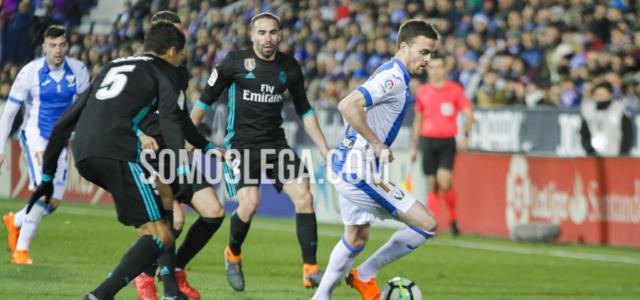 El Madrid remontó (1-3) a un Leganés que fue de menos a más