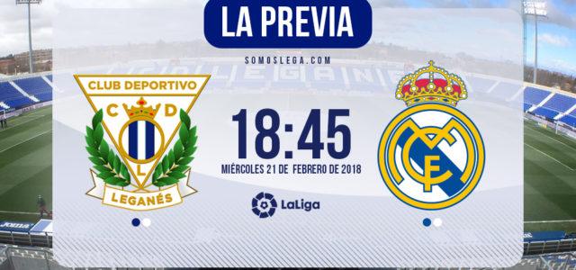 Leganés – Real Madrid: el Lega quiere otro 'pepinazo'