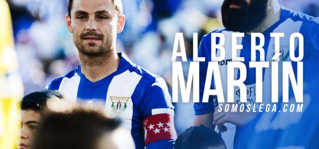 """Alberto Martín: """"Los últimos meses en Leganés quizás han sido lo peor de mi carrera""""."""