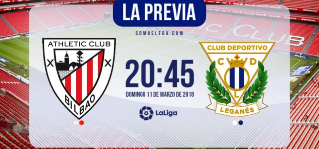 Athletic – Leganés: El Leganés buscará la victoria en un campo talismán