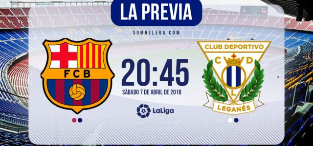 Barcelona – Leganés: Nada que perder