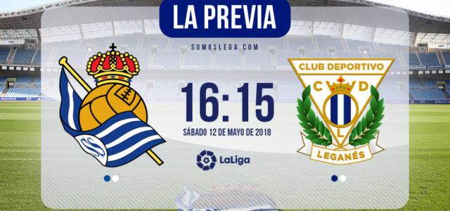 Real Sociedad – Leganés: de despedida en despedida