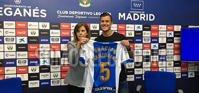 """Mantovani: """"Esto es sólo un hasta luego, porque sé que voy a volver al Leganés"""""""